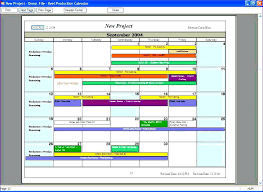 Film Production Calendar Template Production Calendar Template Production Schedule Template Film