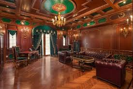 wood home office. traditional home office with chandelier box ceiling cornice herringbone parquet flooring tufted wood