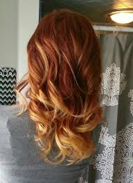 Hmmmred Hair Ombre I Love Both Of These Colours Idea For The