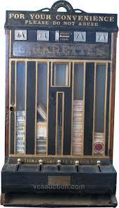 Old Cigarette Vending Machine For Sale Fascinating 48 Column National Cigarette Vending Machine W Match Co