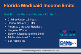 florida caid ine limits for 2020