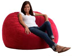 furniture interesting picture of decorative red bean bag chairs