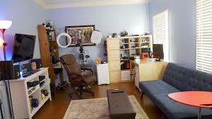 desk home office 2017. Home Office Setup Tour 2017! (Gaming, Filming, Treadmill Desk) Desk 2017 C