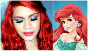 disney princess the little mermaid ariel makeup tutorial you