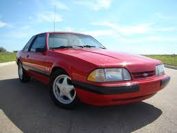 1991 Ford Mustang Fox Body Coupe with Silver Pony Wheels - a photo ...