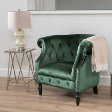 green velvet accent chairs