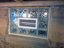 installing glass block basement windows patio shades glass block glass brick shower