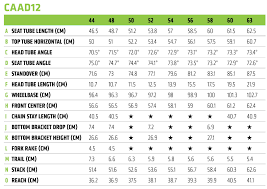 Cannondale Caad12 Size Chart Caad12 Ultegra