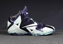 lebron shoes 2014. men shoes- nike lebron xi as james signature shoe all-star game 2014 edition glow in the dark shoes
