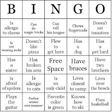 Summer Word List Summer Camp Bingo Cards