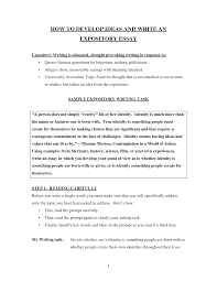 awesome collection of example of explanatory essays also format awesome collection of example of explanatory essays also format layout