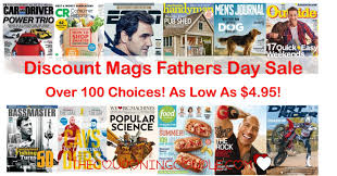 Check Out The Discount Mags Father