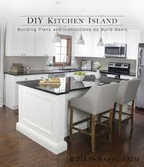 Build a DIY Kitchen Island  Build Basic | This kitchen island is made from  a