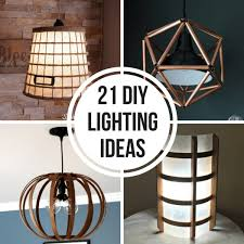 diy lighting ideas. Collage Of DIY Lighting Projects. SHARE IT! Diy Ideas
