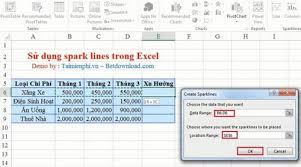 Spark Charts Excel Excel How To Spark Lines In Excel Spreadsheets
