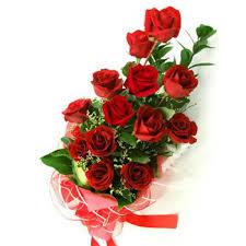 Mazzo 12 rose - Vendita fiori consegna a domicilio a Bergamo