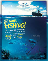 Fishing Tournament Flyer Template 20 Fishing Flyer Templates Free Premium Download