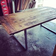 Industrial chic furniture ideas Apartment Industrial City Farm Table By Ryan Surratt Pinterest Industrial Chic Furniture Designs And Ideas Custommadecom