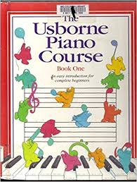 the usborne piano course book one piano course series library binding january 1 1995