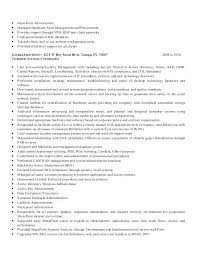 Example Management Resume – Tigertweet.me