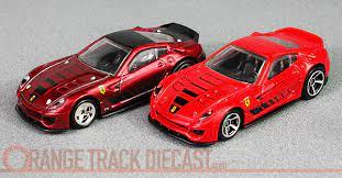All Stars Series Ferrari 599xx Orange Track Diecast