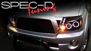 SPECDTUNING INSTALLATION VIDEO: 2005-UP TOYOTA TACOMA PROJECTOR ...