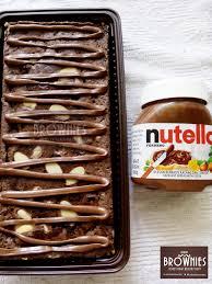 Nutella Topped Brownies Daftar Harga Nutella Topping Brownies Terbaru September 2017