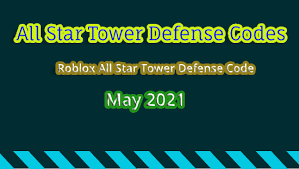 Here's the list of all new all star tower defense codes roblox: Musvfugmszgmhm