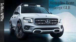 Jeder dritte mercedes ist mittlerweile ein suv, jeder vierte. Mercedes Benz Glb Concept Exterior Interior 2019 Shanghai Auto Show Youtube
