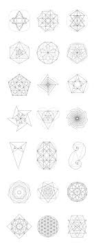 Sacred Geometry Bundle 60 Items By Kloroform On At Creativemarket