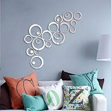 Small Picture Buy Saifee Acrylic 3D Home Office Dcor Wall Sticker Circles