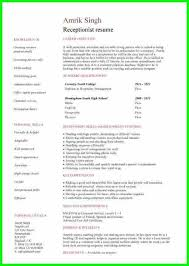 College Golf Resume Template Web Dev 2 Page 1 Bad Example For Layout