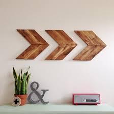 wood arrow wall art