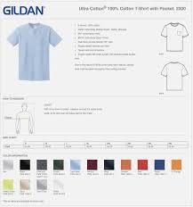 Gildan T Shirt Size Chart T Shirts Design Concept