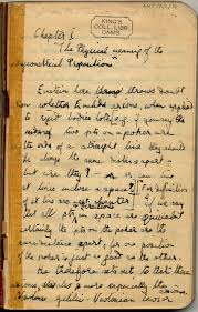 pgm king s treasures first page of alan turing s precis of the theory of relativity by albert einstein amt