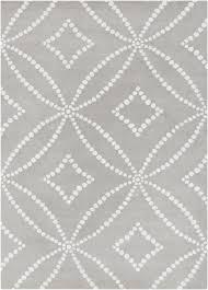 white modern rug. gray/white modern tufted wool rug white