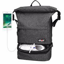 Designer Leather Bag Maplestory Travel Backpack Maplestory Waterproof Anti Theft Wet Separation Roll Top Business Laptop Bag Lightweight Daypack For Men Women
