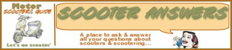 scooter questions get answers to scooter repair questions here scooter answers banner