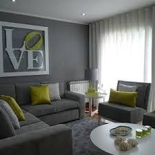 Lovely Green And Gray Living Rooms