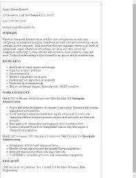 Modern Network Administrator Resume Sharepoint Administration Resume Template Best Design Tips Modern