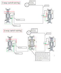 how to wire a 3 way 4 switch wiring diagrams and schematics 3 way switch wiring ge smart devices integrations