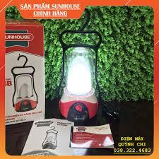 Đèn tích điện đa năng SUNHOUSE SHE - 6036LA - Màu đỏ, có cổng sạc USB 5V -  Chính hãng Sunhouse, Bảo hành 12 tháng. giá cạnh tranh