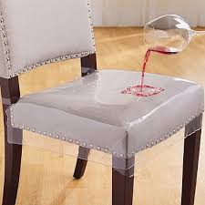 luxury clear plastic dining room chair covers 5