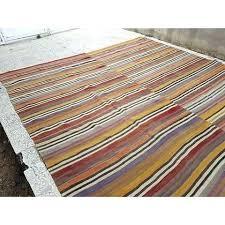 kilim rugs vintage rug vintage handwoven square muted color large striped rug x ft vintage kilim rugs