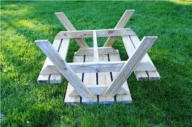childrens wooden picnic tables