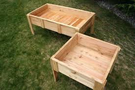 garden orig elevated boxes company raised plans with bed legs inexpensive beds how to on for