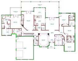 House Plan Split Bedroom Ranch Home Plans Find 4 With Full Basement Walk