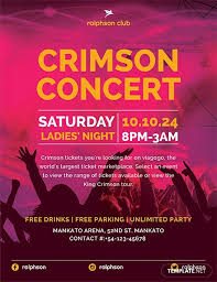 Concert Flyer Template For Word Free Crimson Concert Flyer Template Download 675 Flyers In Psd