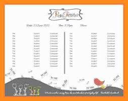 Christmas Program Templates 12 13 Music Concert Program Template Lascazuelasphilly Com