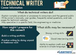 what do technical writers do elearners writing degree